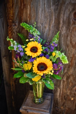 Sunflowers brighten any day!