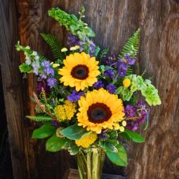 Sunflowers brighten any day!