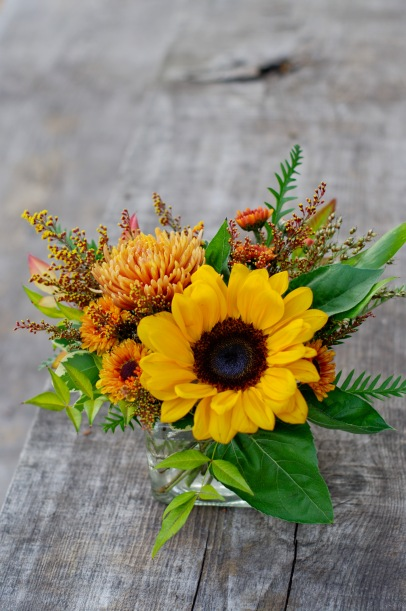 Simple sunflowers