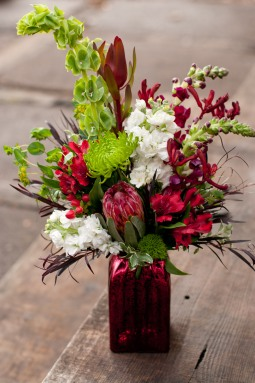 Festive holiday bouquet