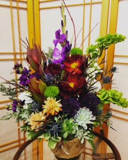 Unique fall bouquet