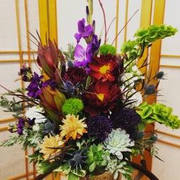 Unique fall bouquet